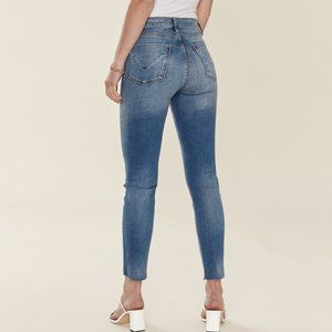 Hudson Holly High Rise Crop Skinny Jeans